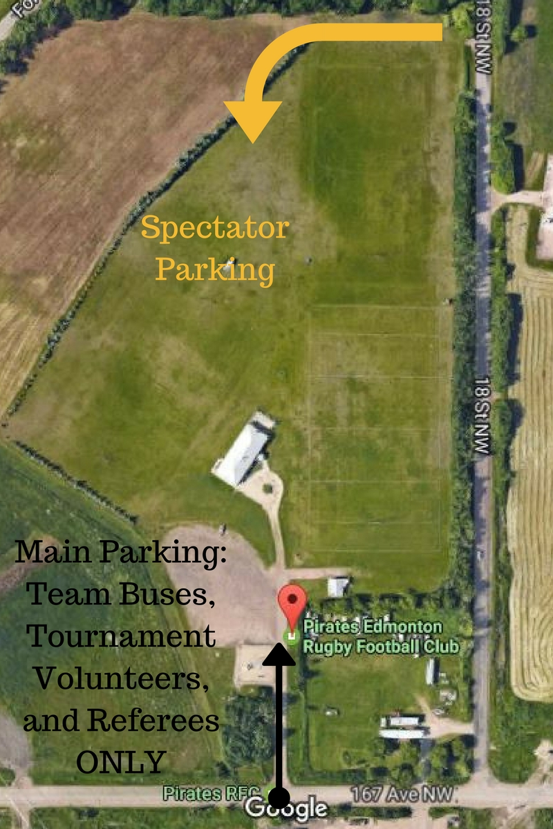 Main Parking_ Team Buses, Tournament Volunteers, and Referees ONLY